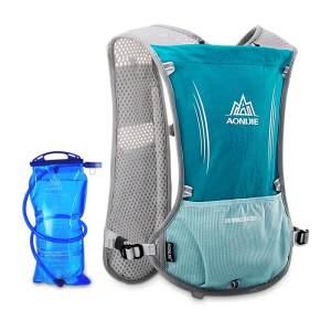 越野跑步背包5L-双肩包男女超轻透气户外运动水袋包防水骑行包E913