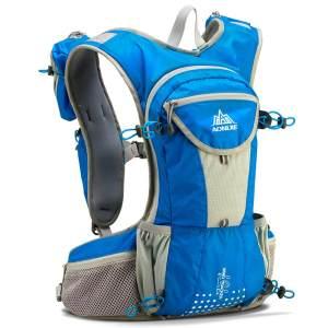 越野跑背包12L-户外跑步包2L水袋包登山包马拉松越野赛奥尼捷E905