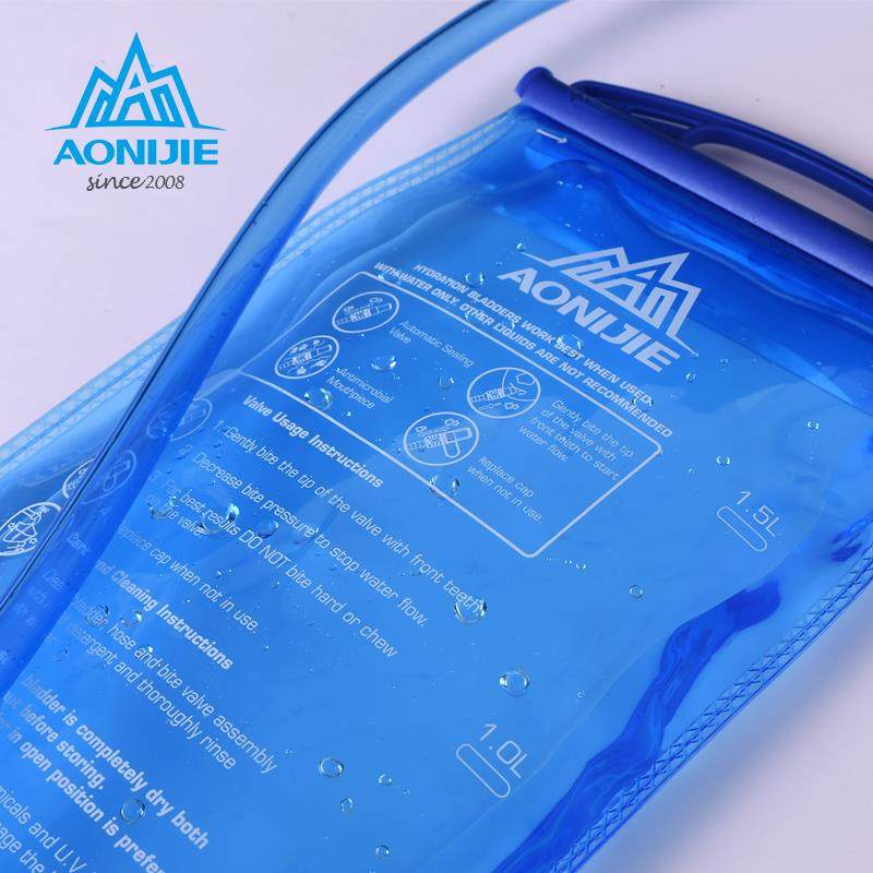 Water Bladder Bag 1.5L /2L /3LHydration Cycling Hiking Camping AONIJIE SD12