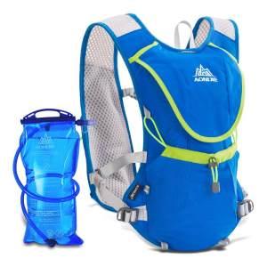 越野跑步背包8L-水壶水袋包贴身双肩包马拉松骑行奥尼捷E883背包