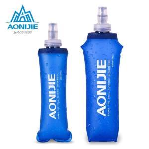 运动软水壶越野跑马拉松硅胶咬嘴登山骑行跑步水瓶奥尼捷SD15