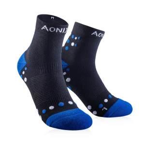 奥尼捷男士跑步袜中筒按摩袜户外速干运动袜防臭越野马拉松袜子E4092