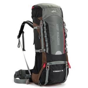 户外旅行背包登山包70L大容量男女徒步旅游双肩包防水E837