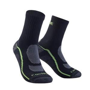 运动跑步袜子男女短中筒专业毛巾底篮球袜骑行登山越野马拉松袜子奥尼捷E4095